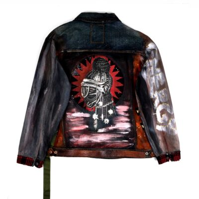 Be Human Denim Jacket Stone Black WDCAWWABB 1