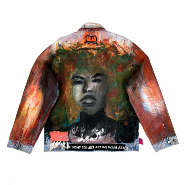 Black Citrus Denim Jacket WDCAWWK 1