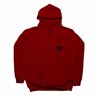 Currency Heist Ram Hoodie Red CHRHR V1
