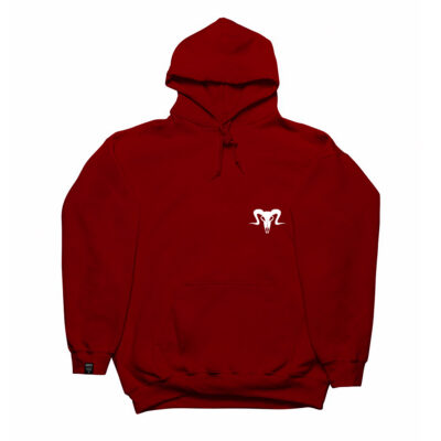 Currency Heist Ram Hoodie Red White CHRHRW V1