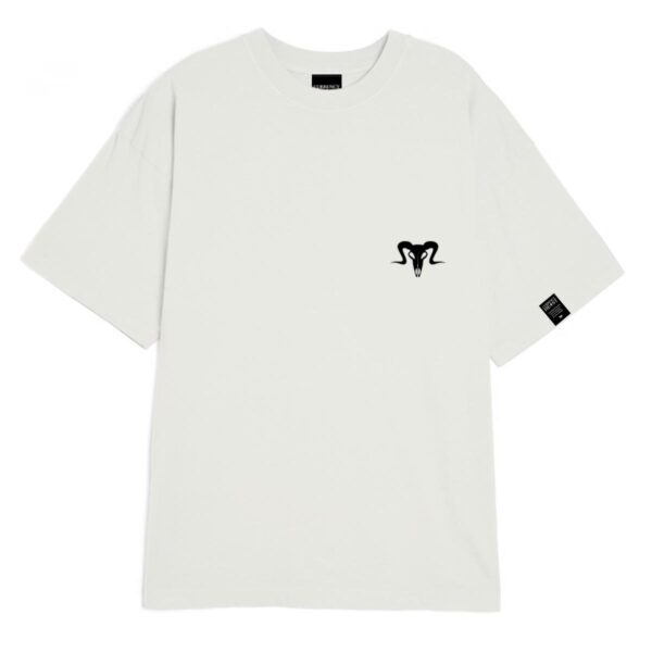 Currency Heist Ram T Shirt White CHRTW Front