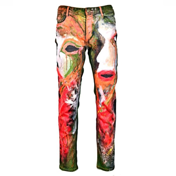 Faces-Fabric-Painted-Straight-Jeans-WDCAWWAJB-1