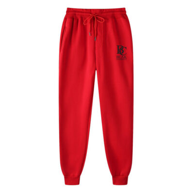 Blak Currency Sweatpants Red Black BCSPRB