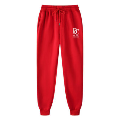 Blak Currency Sweatpants Red White BCSPRW