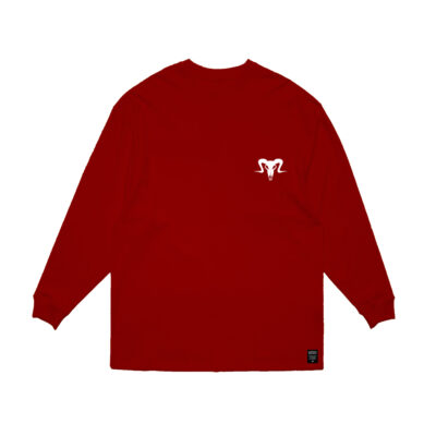 Currency Heist Ram Sweater Red RSR1