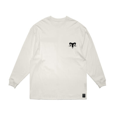 Currency Heist Ram Sweater White RSW1