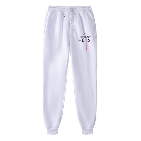 Currency-Heist-x-Creative-God-Trackpants-White-CXCTPW18-Front