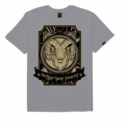 Ram-Battalion-Grey-Gold-Tee-RBGGT3-Front