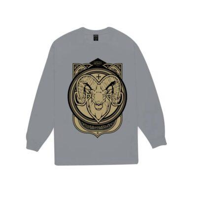 Ram-Battalion-II-Grey-Gold-Sweater-RBIIGGS4-Front