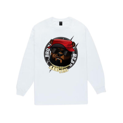 Brother-Bear-Sweater-White-BBSWW-Front