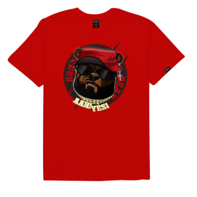 Brother-Bear-T-Shirt-Red-BBTRR-Front